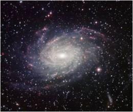 La galassia NGC 6744, a 30 milioni di anni luce dalla Terra, un classico esempio di galassia a spirale (foto: Istituto Nazionale di Astrofisica)