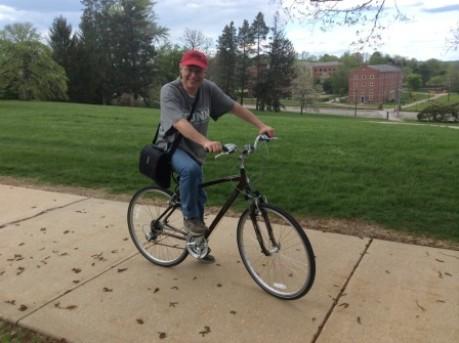 La bici: il mezzo perfetto.